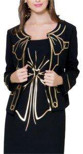 Moschino Black and gold Jacket
