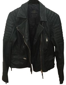 AllSaints Forest Leather Jacket