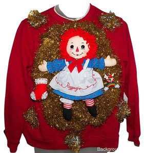 Plush Raggedy Ann Not Sweater