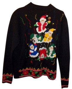 What The Santa Dogpile Ugly Sweater