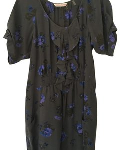 Rebecca Taylor short dress Gray floral on Tradesy