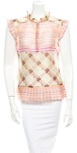 SUNO Top Pale pink and multicolor