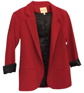 Silence + Noise Red Blazer