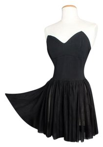 Betsey Johnson short dress black Vintage on Tradesy