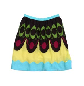 Missoni Multi Color Cotton Blend Skirt