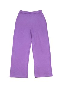 St. John Lavender Knit Wide Leg Pants