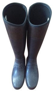 Hunter Wellies Rain Navy Boots