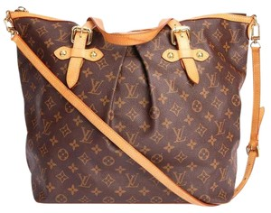 Louis Vuitton Palermo Tote in Brown