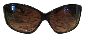 Jimmy Choo Jimmy Choo Sunglasses with Case/Cleaning Cloth