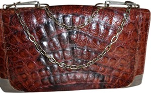 COSTA DEL SOL ALLIGATOR Shoulder Bag
