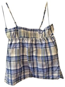Aeropostale Top blue plaid
