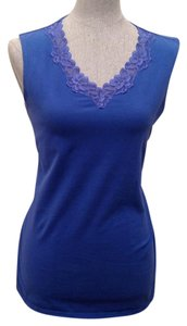 White Stag Top Blue