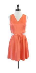 Parker short dress Sherbert Mesh Panel on Tradesy