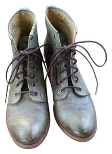 Frye Rare Color Leather Antique Green Boots