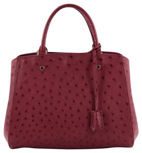 Louis Vuitton Ostrich Tote in Pink