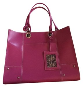 Wilsons Leather Hot pink computer bag