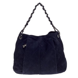Chanel Nubuck Hobo Bag