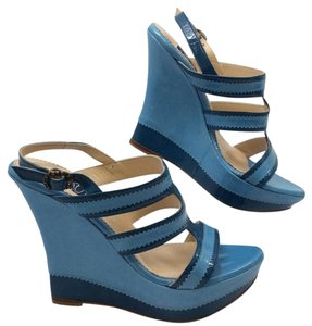 Zoraide Blue/Navy Wedges