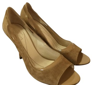 Kate Spade Carmen Camel Neutral Pumps