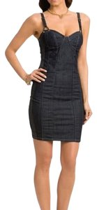 Guess By Marciano short dress blue Corset on Tradesy