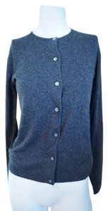 Ralph Lauren Blue Label Gray Cashmere Cashmere Sweater Winter Sweater Cardigan