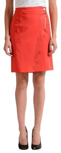 Versace Jeans Collection Skirt Coral Red
