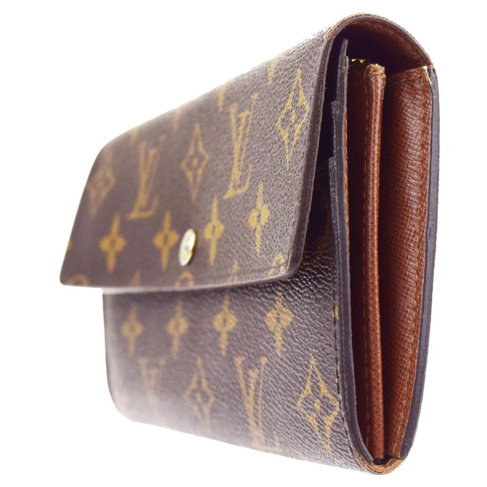 Louis Vuitton Portefeuille Sarah Long Bifold Monogram ...