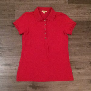 Burberry Brit T Shirt Red