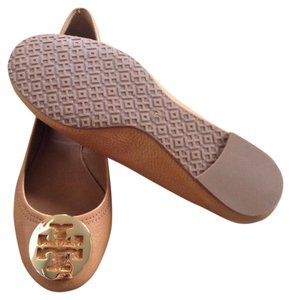 Tory Burch Reva Brown royal tan camel Flats