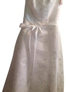 David's Bridal short dress White on Tradesy