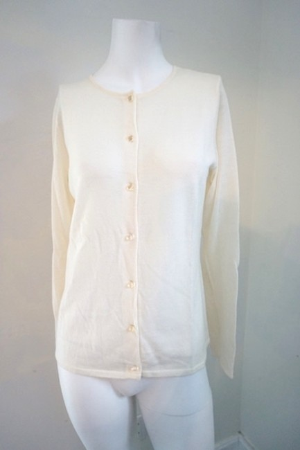 ac48ff2f3cadb hot sale Sutton Studio Cashmere Cream Sweater Cardigan. Top  905991 -  Blouses lovely