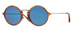 Persol Persol 3091-SM Sunglasses 3091 Havana Blue 9656 Reflex Authentic