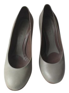 Marni Leather Grey Pumps