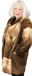 German Furs Fur Saga Fox Xxxl Fur Coat