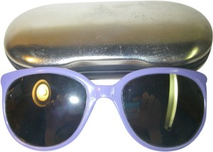 iSki Lavender Purple Ski Cat's Eye Sunglasses Reflective Gradient Glacier Lenses Japan