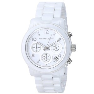 Michael Kors Mickael Kors White Ceramic Chronograph Watch