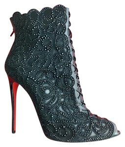 Christian Louboutin Black (Size 41) Boots