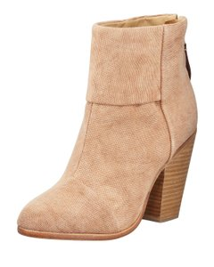 Rag & Bone Canvas Beige Boots