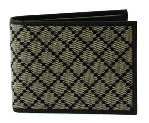 Gucci GUCCI 143384 Men's Diamante Jacquard Bifold Wallet