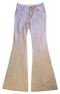 Stella McCartney Italy Cotton Flare Leg Jeans