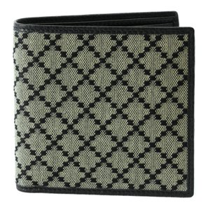 Gucci GUCCI 150413 Men's Diamante Jacquard Bifold Wallet