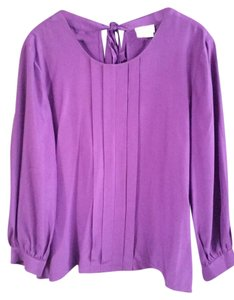 Kate Spade Silk Top Purple