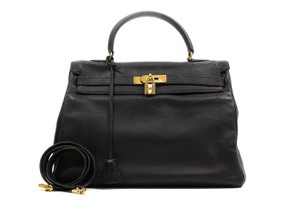 Hermès Hermes Kelly Kelly Kelly 40 Satchel in Black