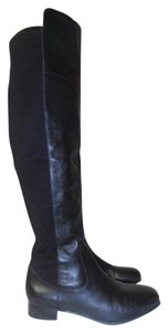 Louise et Cie Over The Knee Designer black Boots