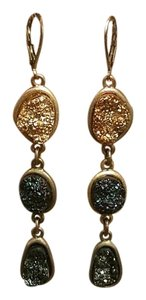Anthropologie Druzy Drop Earrings