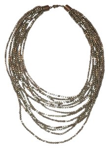 Designers Originals antiqued silver multi-strand necklace