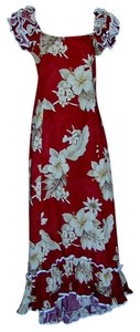 Pacific Legend Hawaiian Formal 100% Cotton Dress