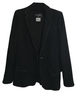 Chanel Classic Fashion Paris Black Blazer