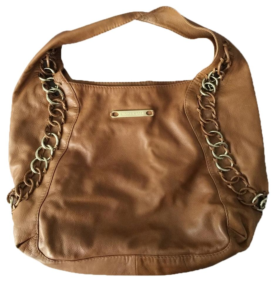 michael kors id chain large hobo bag on sale 78 off hobos on sale. Black Bedroom Furniture Sets. Home Design Ideas