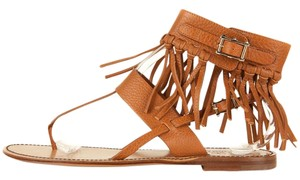 Valentino Saddle Tan Sandals